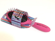 Pink Mini Aqua Splash Hairbrush