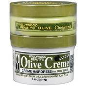 Hollywood Beauty Olive Cholesterol & Olive Creme - 3PC