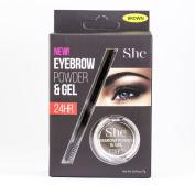 S.he Eyebrow Powder & Gel 24hr Eye Brow