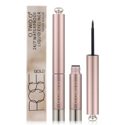O.TWO.O Professional Rose Gold Liquid Eyeliner Pen Eye Liner Pencil 24 Hours Long Lasting Water-Proof