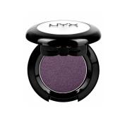1 NYX Hot Singles Eye Shadow HS18 Arrogance ( Violet smoke ) + FREE EARRING