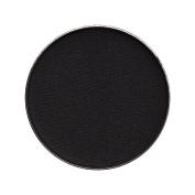 Zuzu Luxe Natural Eye Shadow Pro Palette Refill Pan Blackout Carbon Matte Black