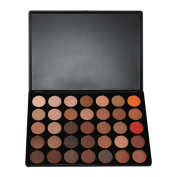 Sunsent 35 Colours Nature Glow Eyeshadow Make up Waterproof Palette