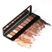 Pulison(TM) FOCALLURE Earth Matt Pearl Warm Smoked 10 colour Eye Shadow Colour