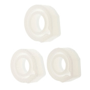 Jili Online 3Pieces Mixed Size Ring Mould Clear Jewellery Resin Casting for DIY Craft Making