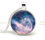 Great White Nebula, Galaxy Pendant, Galaxy Charm, Outer space, Nebula necklace, Nebula charm, Outer space Gift, Nebula Gift, Star Nebula