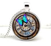 clock pendant watch necklace clock jewellery