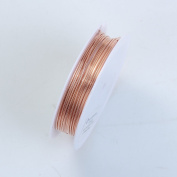 Rose Gold Colour Wire 20 Gauge,Thickness 0.8MM WRG-101-20G