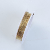Golden Colour Wire 20 Gauge,Thickness 0.8MM WGD-101-20G