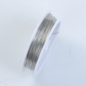 Silver Colour Wire 26 Gauge,Thickness 0.4MM WSF-101-26G