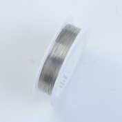 Silver Colour Wire 32 Gauge,Thickness 0.2MM WSF-101-32G