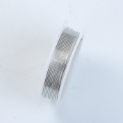 Silver Colour Wire 18 Gauge,Thickness 1MM WSF-101-18G