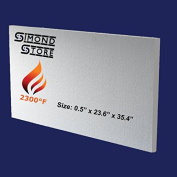 Simvac Ceramic Fibre Insulation Board (2300F) (1.3cm X 60cm X 90cm ) For Stoves, Fireplaces, Ovens, Kilns, Forges, Furnaces & More.