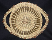 Sweetgrass Basket with Love Knots
