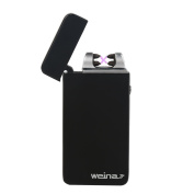 WEINAS Electronic Lighter USB Rechargeable Arc Lighter ,Windproof Flameless with Dual Arc and LED button