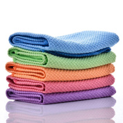 Microfiber Cleaning Cloth Kitchen Dish Cloths & Dish Towels Car Cleaning Tools Electronics Cleaners Washcloth 10 Pack 30cm x 41cm