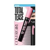 Covergirl Total Tease Waterproof Mascara, Very Black, .21 Oz (6.5 Ml), 0.210 Ounce
