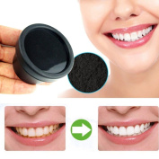 Toraway NEW Natural Organic Activated Charcoal Bamboo Toothpaste Teeth Whitening Powder