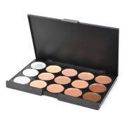15-Colour Waterproof Cosmetic Makeup Concealer Cream for All Skin Type