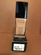 Avon TRUE Colour Ideal Flawless Liquid Foundation broad spectrum SPF 15 sunscreen LIGHT BEIGE