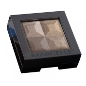 Marcelle Monochromatic Eye Shadow Quad Coffee Beans Hypoallergenic Fragrance-Free 0.046 kg