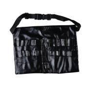 TRENDINAO Black Professional Makeup Brush Aprons Artists Makeup Bag Carrying Straps