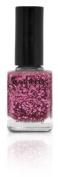 B Nail Shade Princess Pink, A Sparkly Pink Glitter