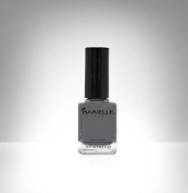 B Nail Shade Feathered Slippers, A Creamy Pure Grey
