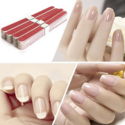 WISHNAIL 10 Pro Nail Art Sanding Files Polish Acrylic Block Buffer Manicure Tips Tools