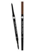 Womens Super Slim Pointe Fine Eyebrow Pencil W/ Brow Brush SSEB