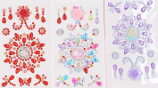 Crystal Gem Stickers - LeBeila Self-Adhesive Rhinestones Stickers For Crafts Bling Craft Jewels Crystal Gem Stickers Flat Back Rhinestone Embellishments Sheets For Kids/Phone/Cups
