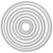 LIYUDL Circle Round Metal Cutting Dies Stencils DIY Scrapbooking Embossing Decor Craft