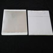 TruePower Imitation Silver Leaf Sheet - 100 Sh/Pk