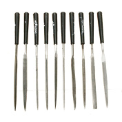 10pc Needle File Set Files For Metal Glass Stone Jewellery Wood Carving Craft Tool