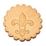 Fleur De Lis 3-D Leathercraft Stamp 8613-00