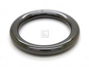 CRAFTMEmore 4PCS Inside 2.5cm Metal O Ring Welded Leather Craft Ring Buckle O-Ring Gag