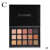 Fullfun Authentic 15-colour pearl matte eye shadow smoked professional make-up multi-colour eye shadow plate