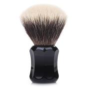 Thater 4125 Finest 2-Band Silvertip Shaving Brush - Black (KNOT