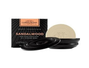 Caswell Massey Sandalwood Shave Soap in Wooden Bowl