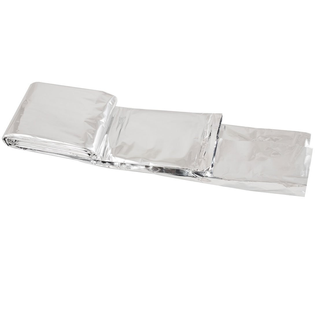 Outdoor Emergency Rescue Solar Thermal Space Mylar Blanket 130cm x 210cm