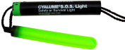 Cyalume Technologies SA9-542740AM Green Signalling Device S.O.S., 13cm Long, 8 hour Duration