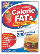 The Calorieking Calorie, Fat & Carbohydrate Counter 2018 Larger Print Edition