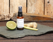 Lemongrass, Ginger, Lime Revive Natural Room Spray With High Grade Essential Oils By Made By Coopers - 30ml Glass Bottle