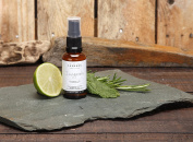 Peppermint, Lime, Rosemary Invigorate Natural Room Spray With High Grade Essential Oils By Made By Coopers - 30ml Glass Bottle