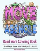 Road Wars Coloring Book