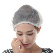 Non-woven hair disposable cap,for salon,spa,food,electronic industry,workshop,colour for white/blue,100pcs/bag