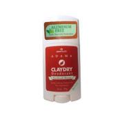Adama Claydry Natural Deodorant 70ml (Patchouli Breeze) 2 Pack