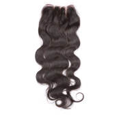 Body Wave Lace Closure 4x 4 Brazilian Virgin Hair Top Closure