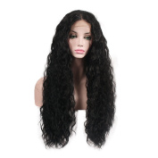 New change Lace Front Synthetic Hair Wigs Long Curly Wigs Hand Tied Cap Heat Resistant Glueless Wig for Black Women