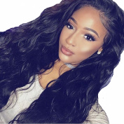 MeiRun Silk Top Full Lace Wigs 150% Density Brazilian Curly Virgin Hair Full Lace Wigs Human Hair With Baby Hair Jet Black